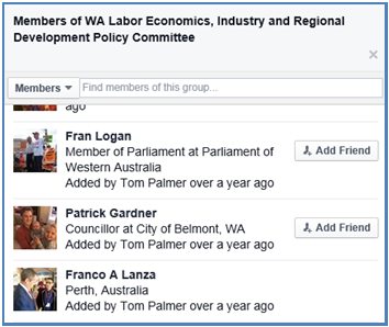 City of Canning image WA Labor EIRD committee